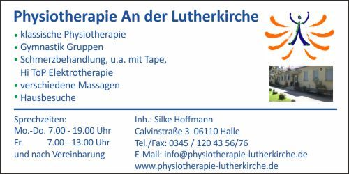 Physiotherapie An der Lutherkirche 2018